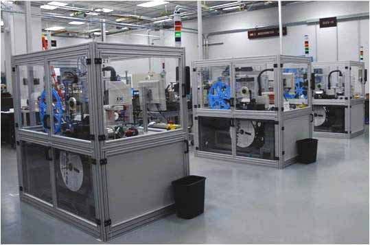 Semiconductor Test Services : Scara robot pick and place automation